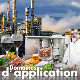 Domaines d'application Tempco